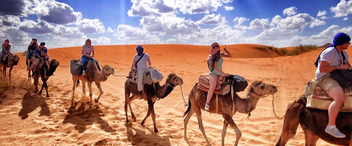 Shared Group 3 days Desert Tour from Marrakech to Merzouga Dunes